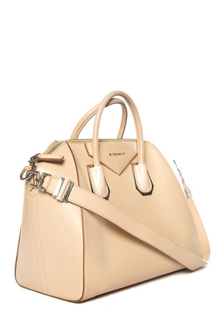 Givenchy Tan Leather Antigona Handle Bag