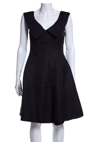 Givenchy Vintage Black Sleeveless Dress SZ 40