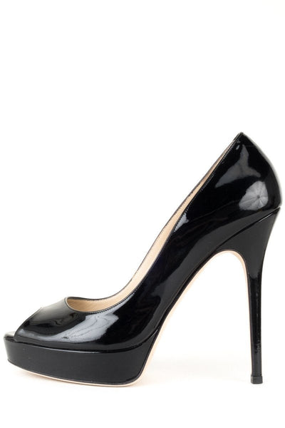 Jimmy Choo Black Patent 'Vibe' Pumps 39.5