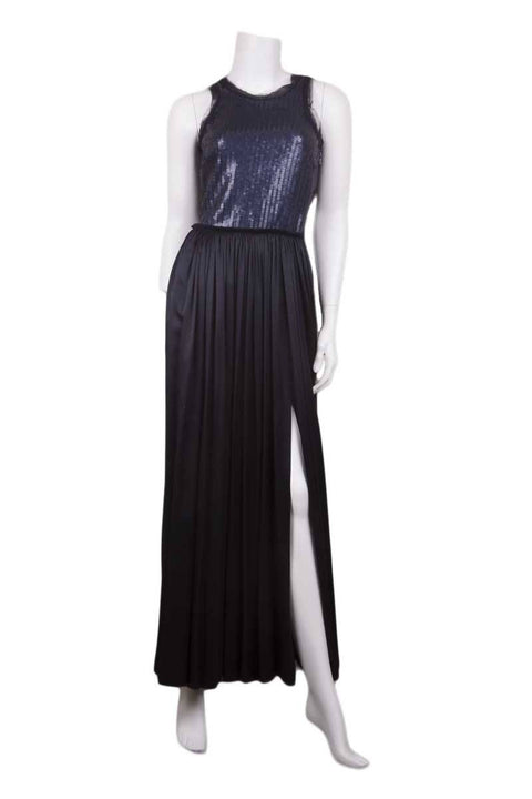 Lanvin Navy Gown/Evening Wear