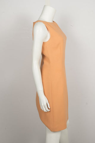 Luca Luca Peach Knee-Length Dress Sz 42