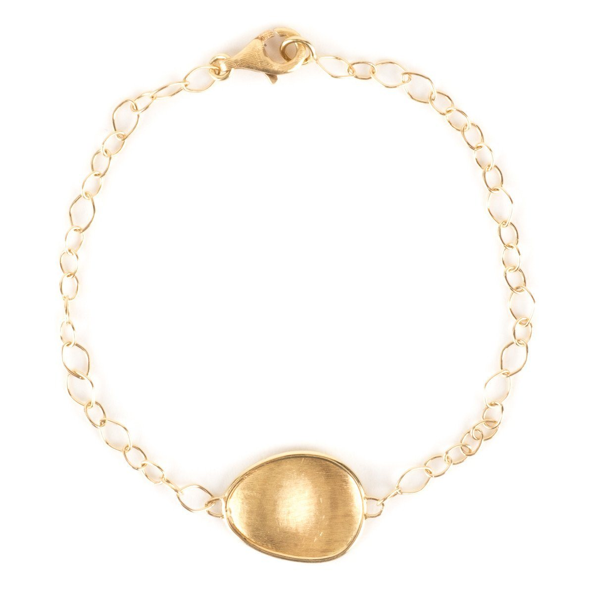 Marco Bicego Textured Gold Lunaria Collection Petal Bracelet