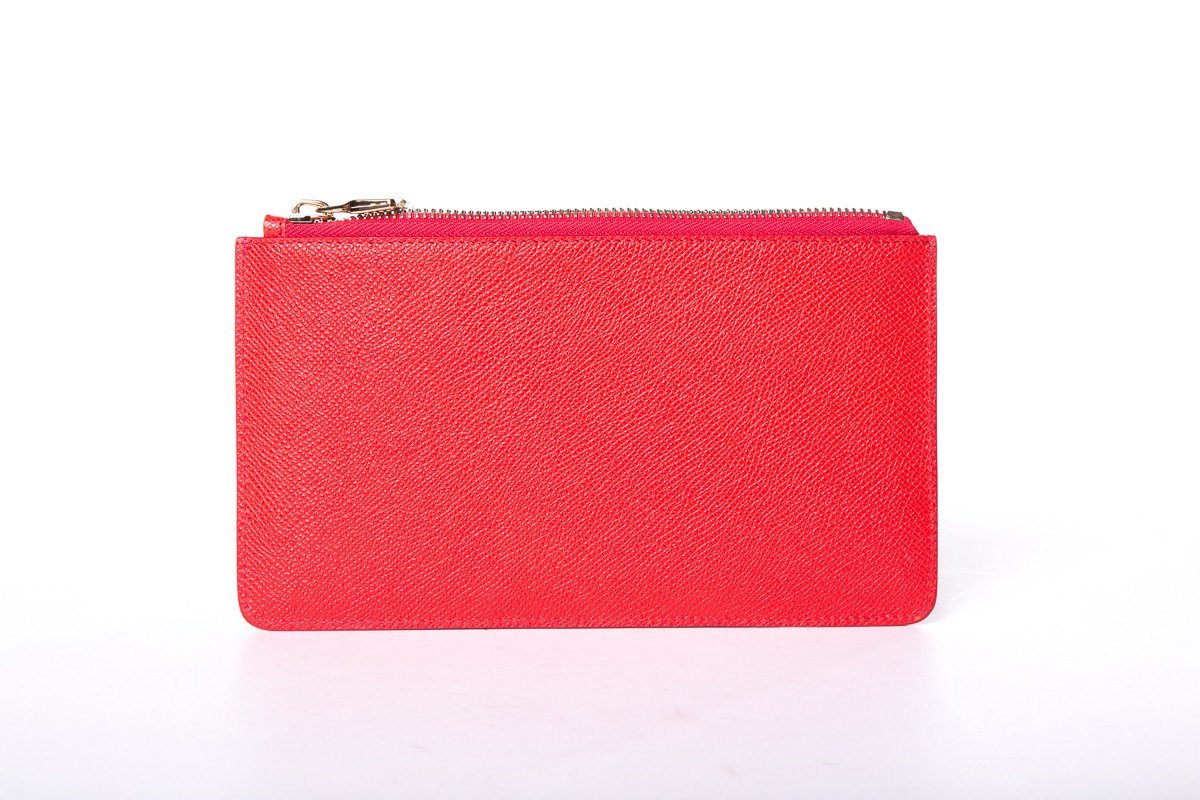 Maxmara Red Clutch NWT