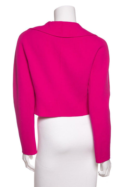 Moschino Couture Fuchsia Cropped Jacket SZ 8