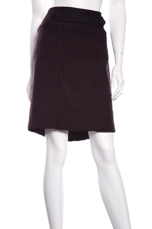 Nanette Lepore Black & Brown Skirt