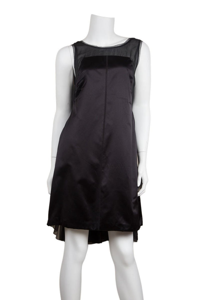 Prada Bustled Cocktail Dress