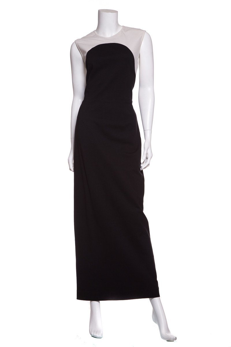 "Stella McCartney Black & White ""Illusion"" Dress SZ 46"