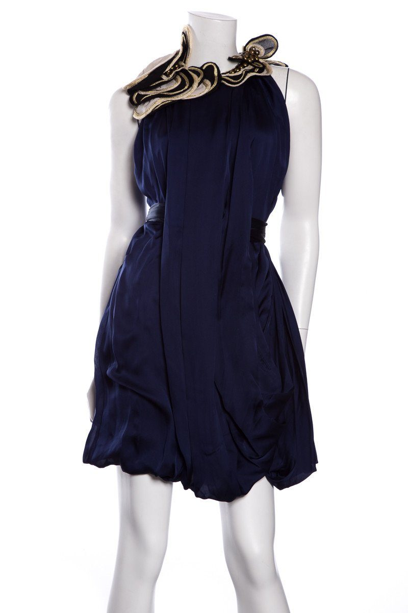 Temperley Navy Dress