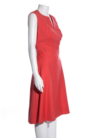 Zac Posen Orange Dress SZ 8