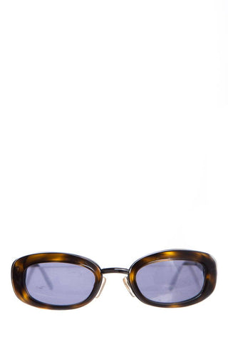 Chanel Brown Tortoiseshell Square Sunglasses