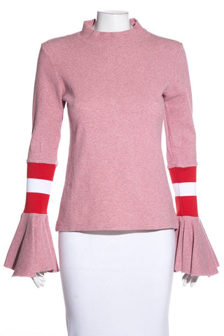 Maggie Marilyn Pink Knit Sweater SZ 8