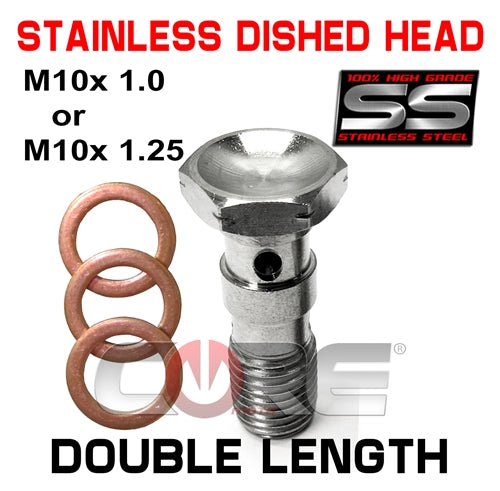 CORE MOTO STAINLESS DOUBLE LENGTH BOLTS