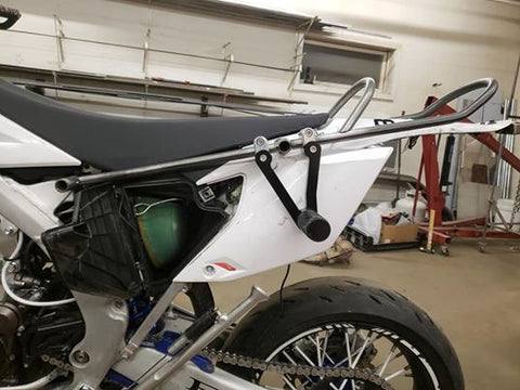 Flatout Fabrication 2012-2015 Yamaha WR450F 12 bar (50 stunt peg compatible)