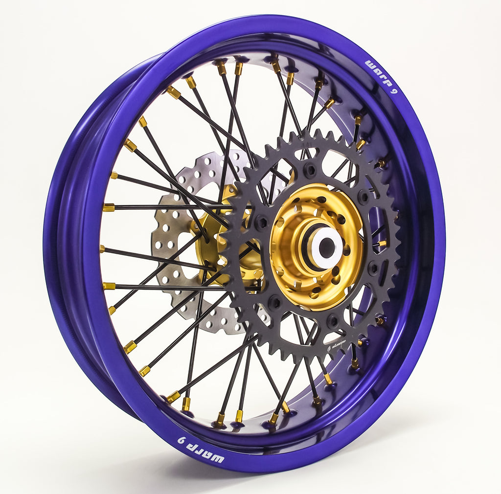 Warp 9 Supermoto Wheels