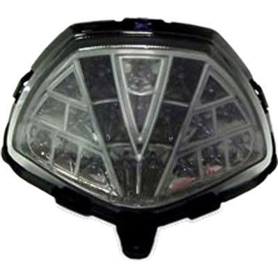 Grom DMP Power Grid Integrated LED Tail Light Smoke