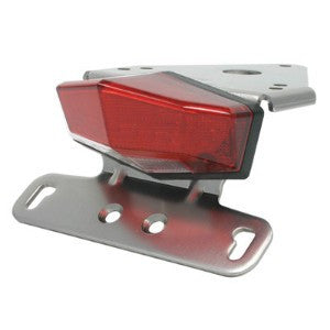 DRC Moto LED Edge 2 Aluminum Tail Light Holder Red