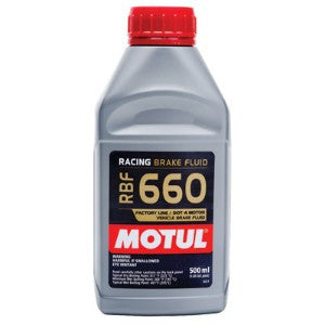 Motul RBF 660 Racing Brake Fluid DOT 4 .5 Liter