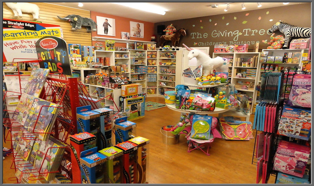 The Giving Tree Children's Boutique features Melissa & Doug Toys in New London, MN