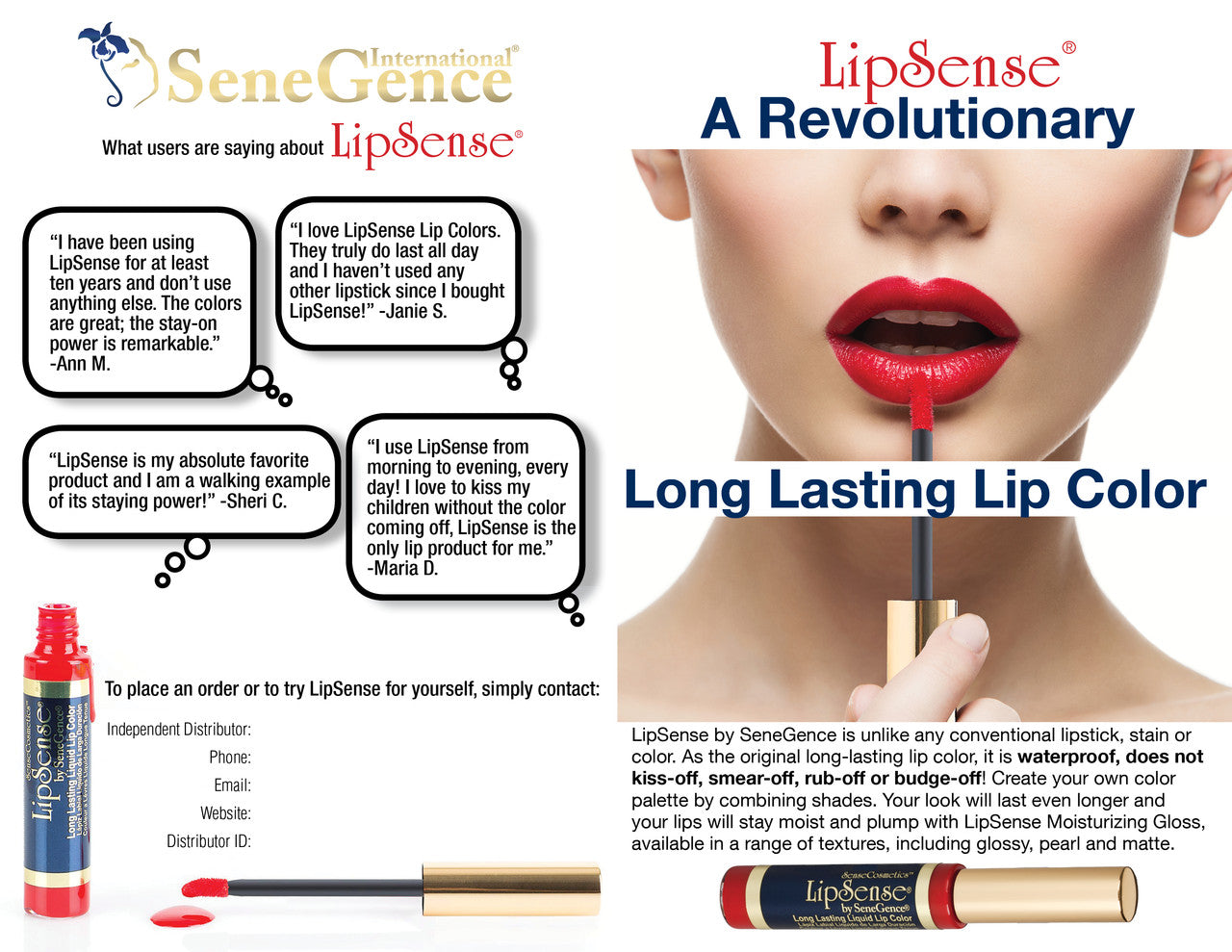 LipSense at The Giving Tree Children's Boutique in New London, MN