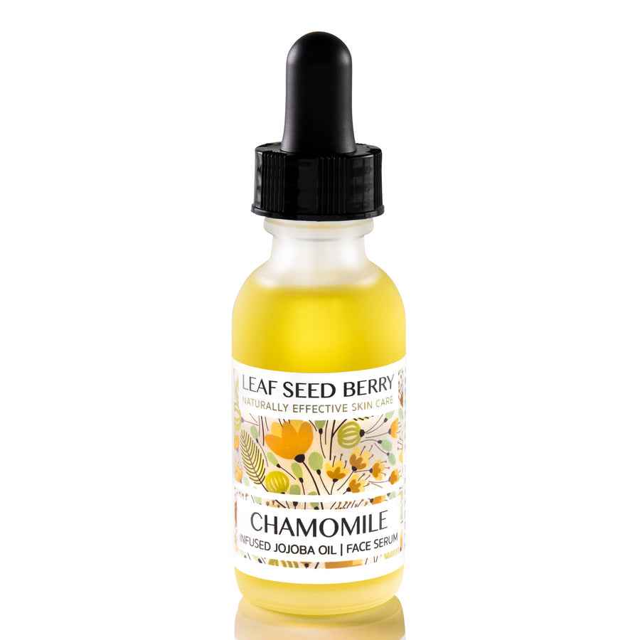 Organic Chamomile Infused Jojoba Oil Face Serum