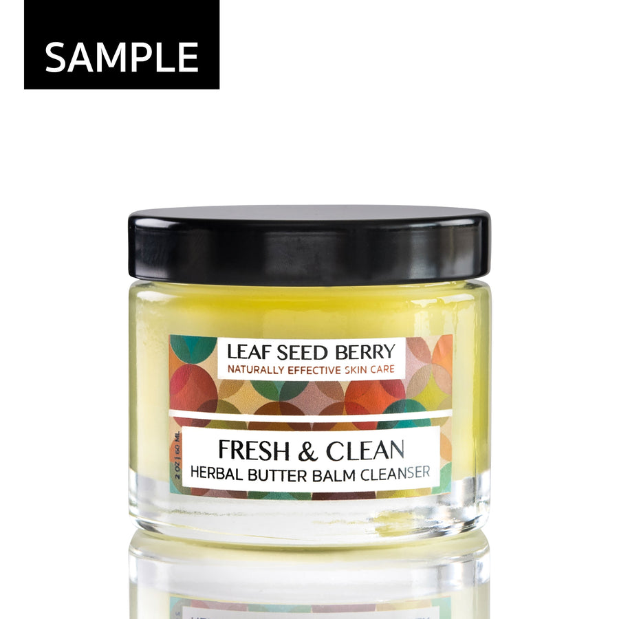 SAMPLE Fresh & Clean Herbal Butter Balm Cleanser
