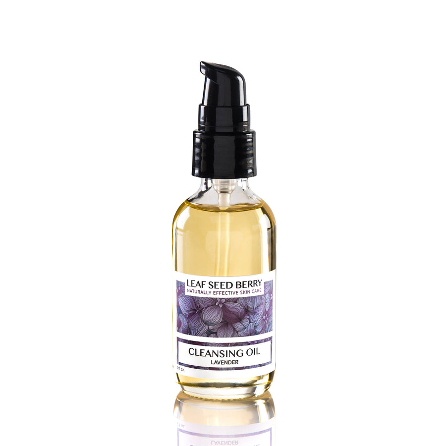 Organic Lavender Cleansing Oil & Makeup Remover