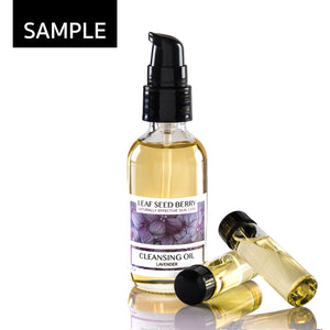 SAMPLE Organic Lavender Cleansing Oil & Makeup Remover