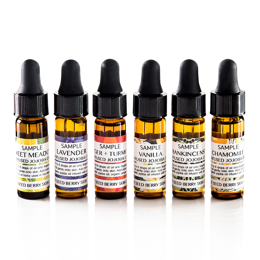 Infused Jojoba Oil Sampler Set