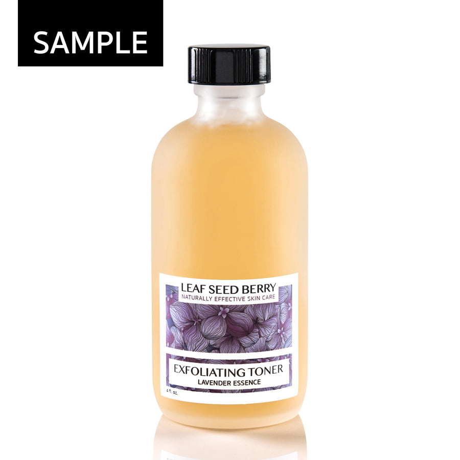 SAMPLE Lavender Essence Exfoliating Face Toner