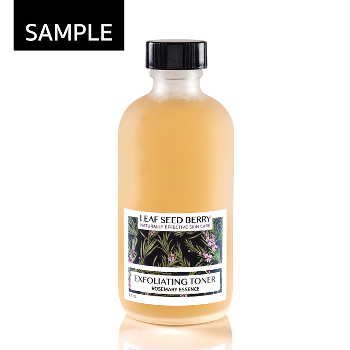 SAMPLE Rosemary Essence Exfoliating Face Toner