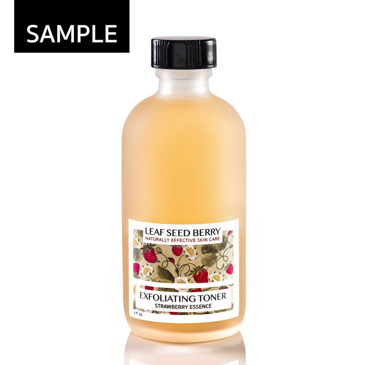 SAMPLE Strawberry Essence Exfoliating Face Toner