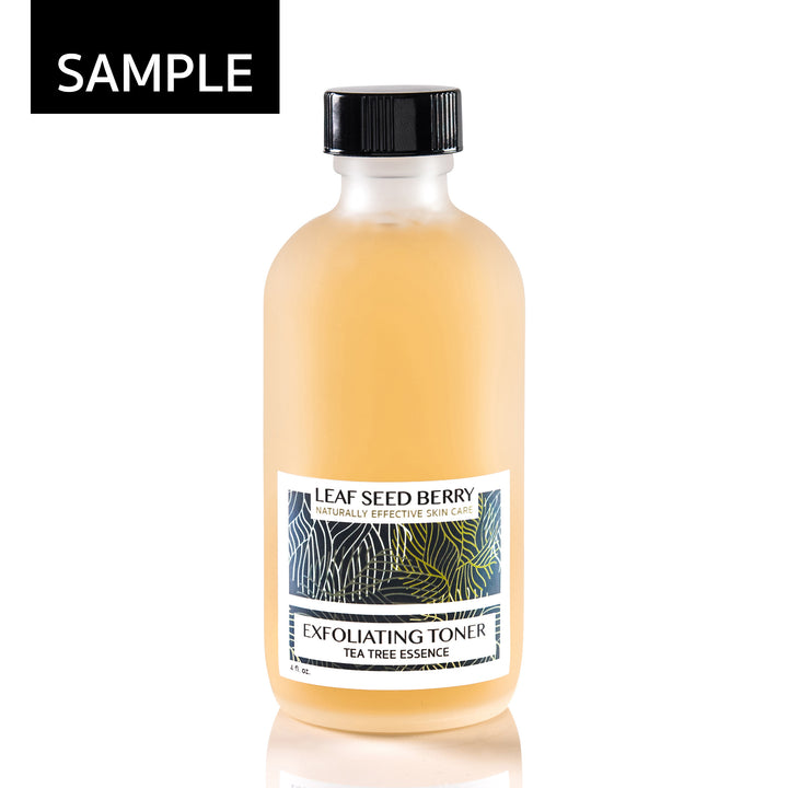 SAMPLE Tea Tree Essence Exfoliating Face Toner
