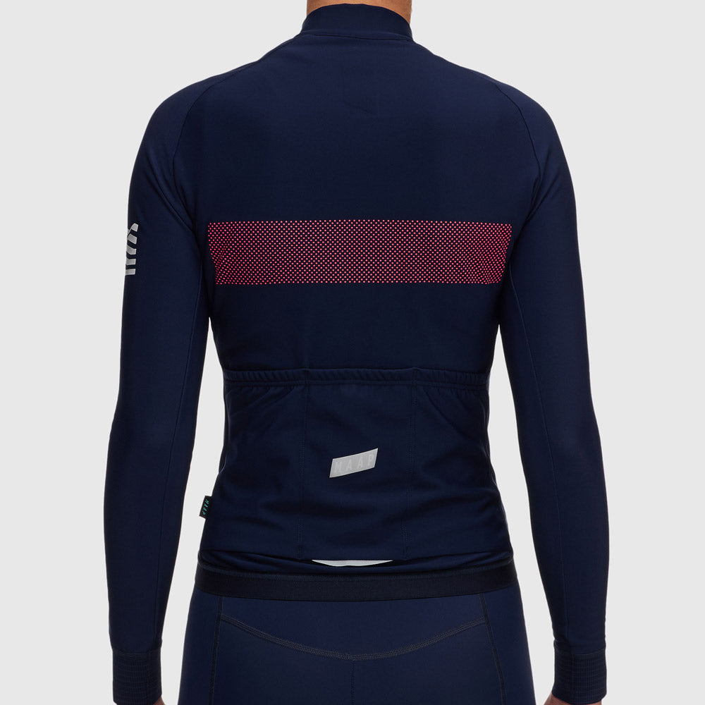 Women's Escape Pro Winter LS Jersey - Navy