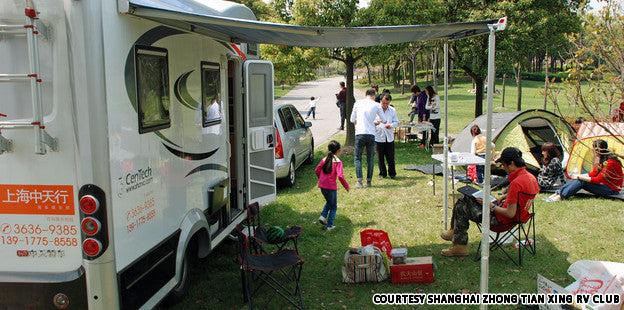 China to invest in 500 RV campgrounds this year