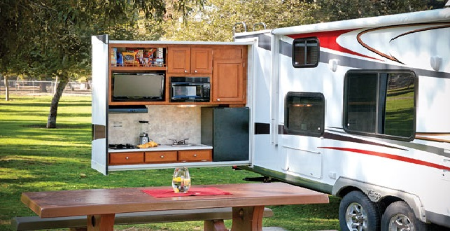 Lighting your outdoor RV kitchen? Lynx has a light for that!