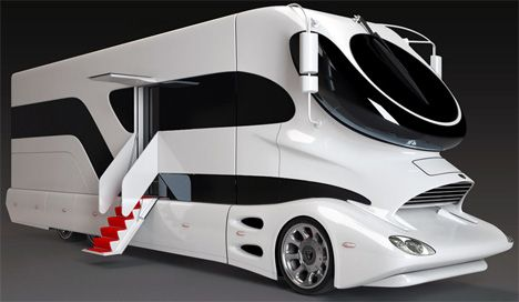 To Infinity and Beyond! 10 Futuristic Campers that will Blow Your Mind