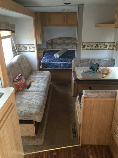 70's RV before