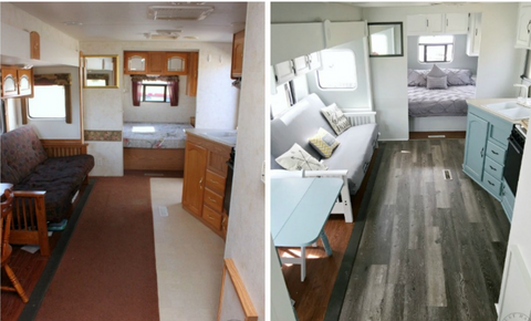 RV floor reno
