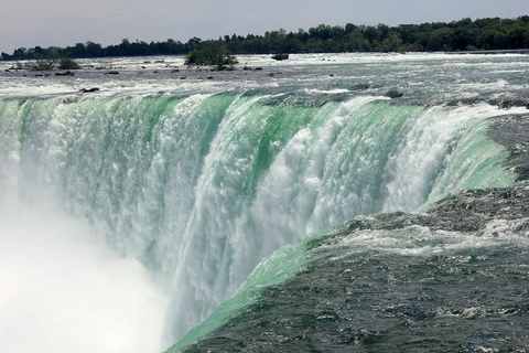 Niagara Falls spills about 85,000 cubic feet of water per second. The region's ice wine goes down smoothly, but should be enjoyed at a much slower rate.