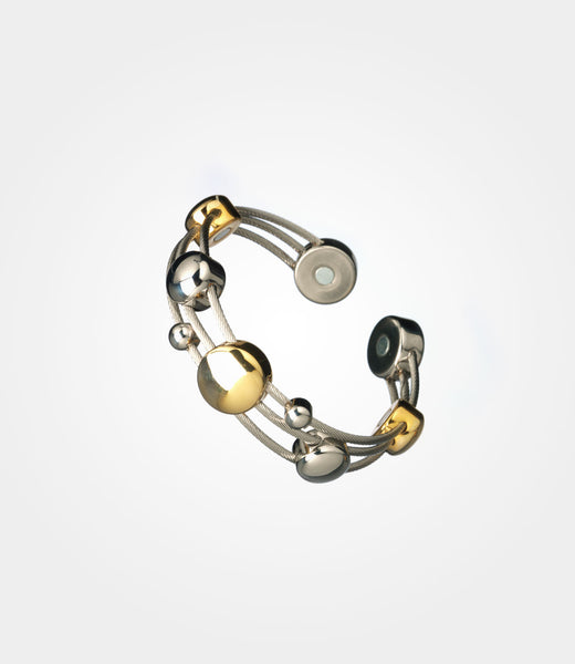 Elementum Magnetic Jewelry Chord Stainless Steel Gold