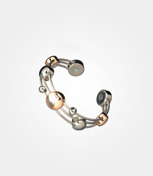 Elementum Magnetic Jewelry Chord Stainless Steel Rose Gold