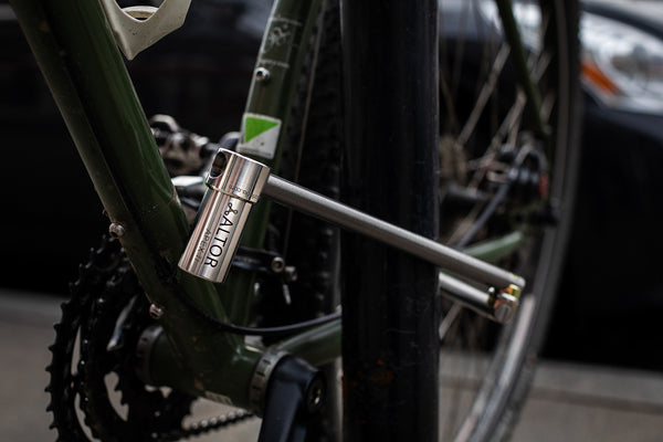 altor apex ti properly locked bike how to lock up your bike best way to lock up a bike titanium bike lock lock facing downward to decrease theft