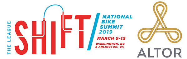 Altor at the 2019 National Bike Summit bike lock bike security women owned business minority owned business Altor APEX Ti