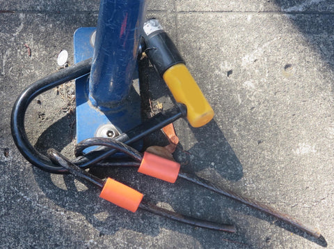 cable locks don't cut it for bike security