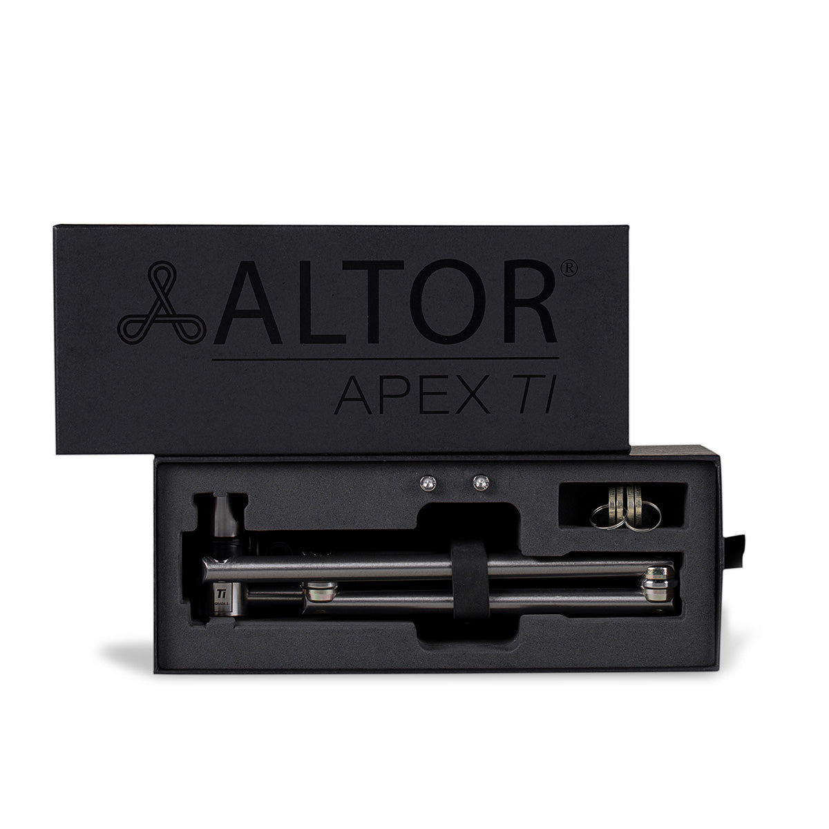 APEX TI - Altor Locks best lightweight secure titanium unbreakable bike lock 2020
