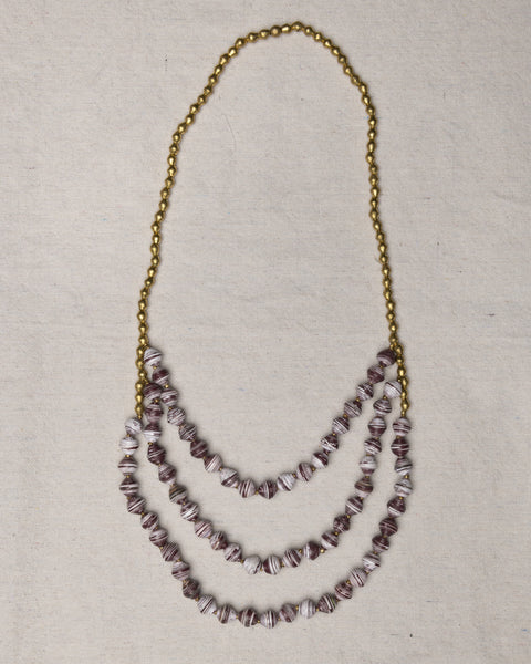 Tigist Waterfall Necklace - Texas A&M