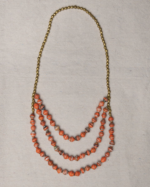 Tigist Waterfall Necklace-U of Tennessee