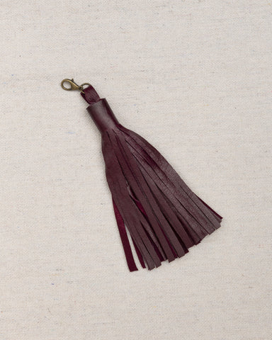 Leather Tassels with Hooks - Texas A&M