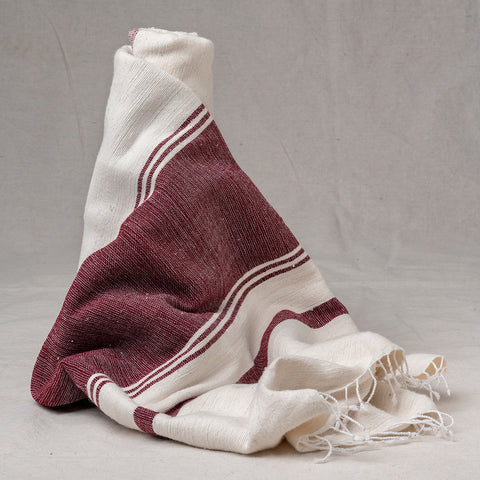 Beach Towel Hand Woven - Texas A&M