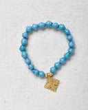 Mini Paper Bracelet with Cross Charm